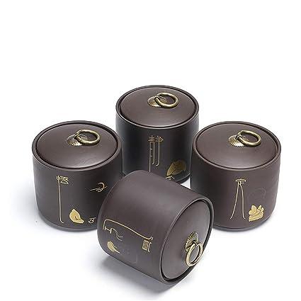 NNDQ Barattoli in Ceramica da 4 Pezzi, Design Squisito ...