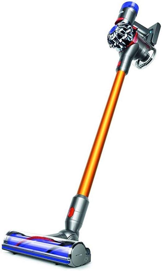Aspiradores inalámbricos Aspirador inalámbrico de Mano Hoover para Uso doméstico Aspirador inalámbrico de Carga de Alta Potencia (Color : Gold, Size : 124.3 * 21 * 25CM): Amazon.es: Hogar