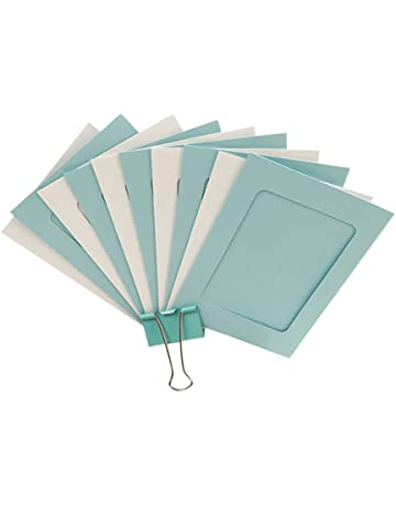 Wa 10 marcos de fotos de papel para colgar en la pared o en