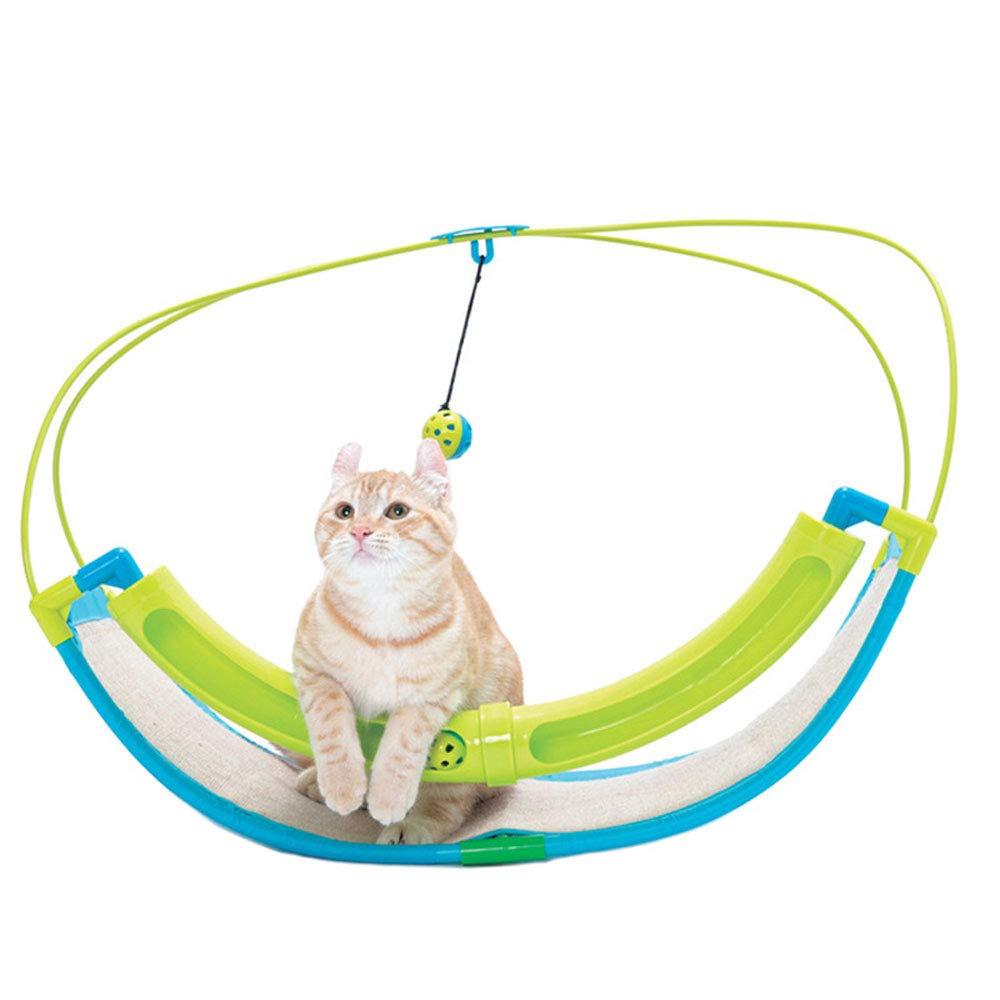 Cat Climbing Frame cat Cradle, Creative cat Sand Ball Scraper Shaker Multifunctional cat Toy cat Climbing Frame cat