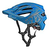 Troy Lee Designs A2 Pinstripe 2 Mountain Bike Adult Helmet 2018 with MIPS Protection and X-Static Liner meets/exceeds CPSC CE-EN AS/NZS Small Ocean Blue