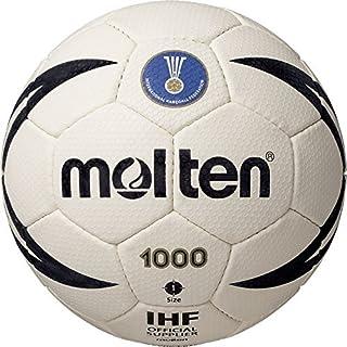 Molten H1X1000 - Pallone da Pallamano, Colore Bianco/Nero, Taglia 1