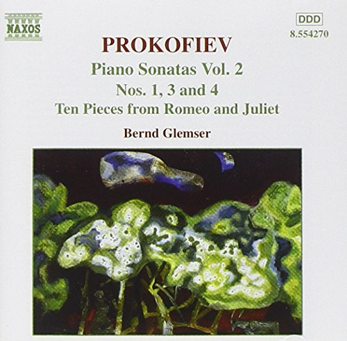 Price comparison product image PROKOFIEV:PIANO SONATAS NOS. 1/3/4