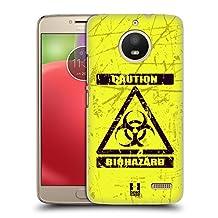 Head Case Designs Bio Hazard Symbols Hard Back Case for Motorola Moto X4