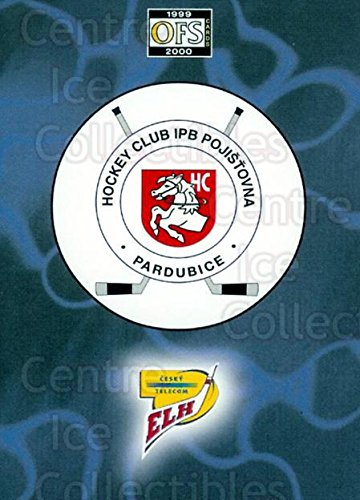 fan products of (CI) HC Pardubice Hockey Card 1999-00 Czech OFS Team Cards 9 HC Pardubice