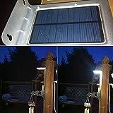 24 LED Solar Power Outdoor Motion Sensor Lamp