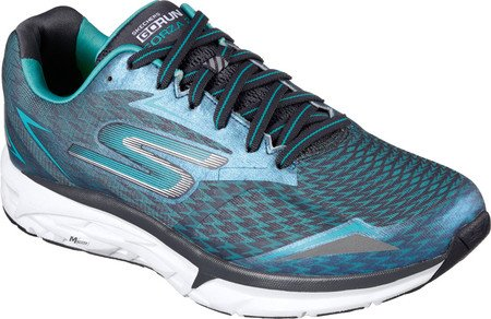 Skechers Men's GOrun Forza 2 Running Shoe,Charcoal/Teal,US 13 M