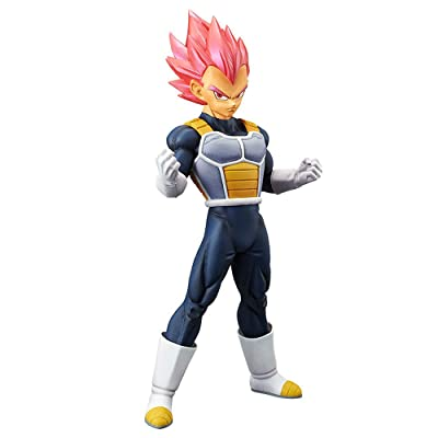 Banpresto 39033/ 10222 Dragon Ball Super Movie Choukokubuyuuden - Super Saiyan God Vegeta Figure: Toys & Games