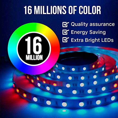 2018-LED-Strip-Lights-Kit-2-Pack-x-5M-328ft-10M-300-LEDs-SMD-5050-RGB-Light-with-44-Key-Remote-Controller-Extra-Adhesive-3M-Tape-Flexible-Changing-Multi-Color-Lighting-Strips-for-TV-Room