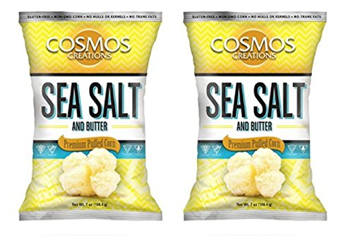Cosmos Creations Nuggets, Sea Salt and Butter, 7 Ounce (Pack of 2)