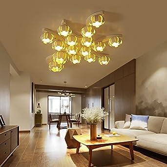 Lemumu Die Deckenleuchte Wohnzimmer Licht Minimalistische Atmosphäre Lampe  Warm Romantische Schlafzimmer Personality Lamps, 8