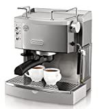 Best Espresso Machines - DeLonghi EC702 15-Bar-Pump Espresso Maker, Stainless, Metal Review