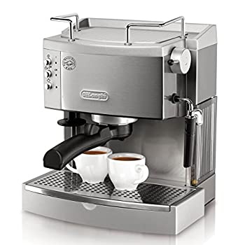 Image of DeLonghi EC702 15-Bar-Pump Espresso Maker, Stainless, Metal Home and Kitchen