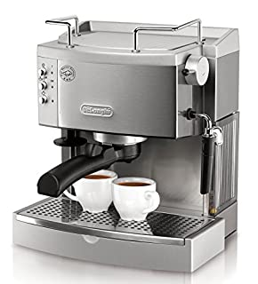 DeLonghi EC702 15-Bar-Pump Espresso Maker, Stainless, Metal (B001CNG7RY) | Amazon price tracker / tracking, Amazon price history charts, Amazon price watches, Amazon price drop alerts