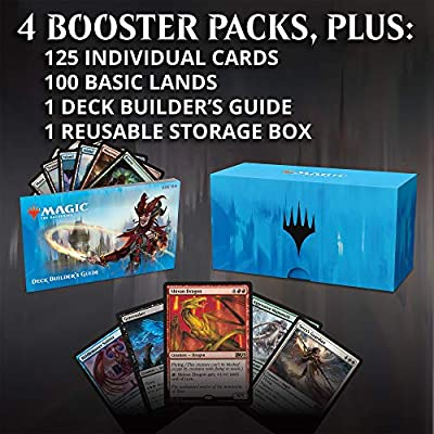 Magic: The Gathering Ravnica Allegiance Deck Builder's Toolkit | 4 Booster Packs | 125 Cards: Toys & Games