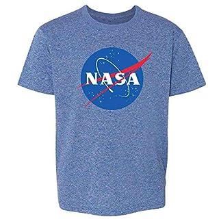 Pop Threads NASA Approved Space Program Logo Retro Graphic Youth Kids Girl Boy T-Shirt