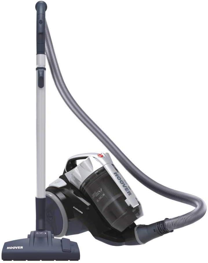 Hoover Khross KS 31 Par 39002170 - Arrastre multiciclónico sin bolsa con cepillo para parqué, 550 W, color gris y negro: Amazon.es: Hogar