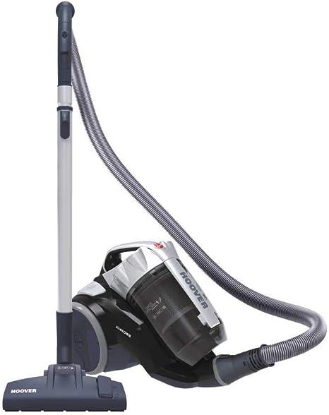 Opinión sobre Hoover Khross KS 31 Par 39002170 - Arrastre multiciclónico sin bolsa con cepillo para parqué, 550 W, color gris y negro