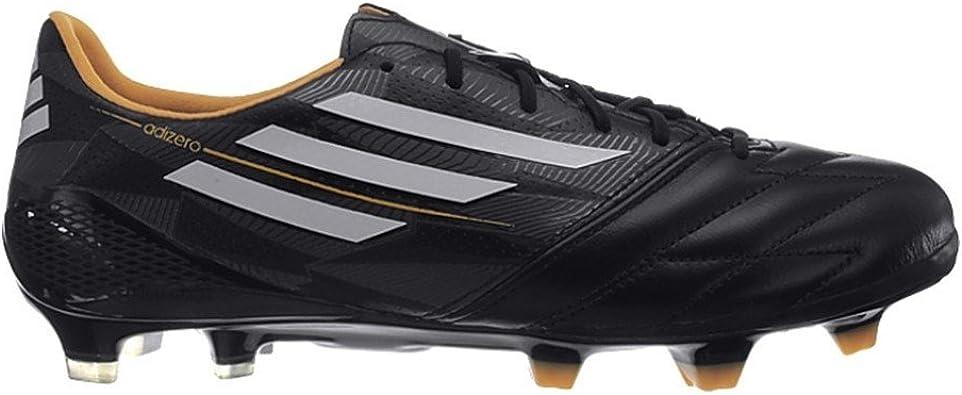 Adidas F50 adizero TRX FG Leather Fussballschuhe core black ...