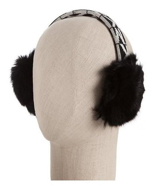 ff790176864 Michael Kors Women s Faux Fur Logo Earmuffs