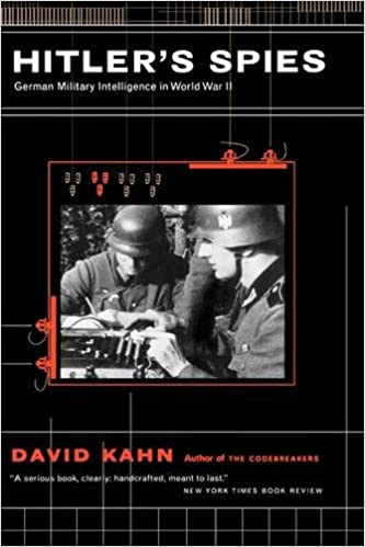Image result for David Kahn German military intelligence in World War II