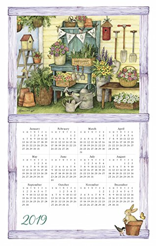 Home Is Where the Heart Is 2019 Calendar Towel ()