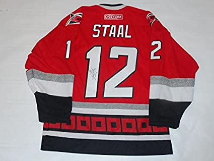 Image Unavailable. Image not available for. Color  Eric Staal Signed Jersey  - Ccm 2006 Stanley Cup Coa - JSA Certified - Autographed NHL 2434c125e