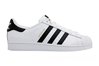Adidas Superstar Women's Original Superstar Sneakers White Black C77153 GooodLux ...