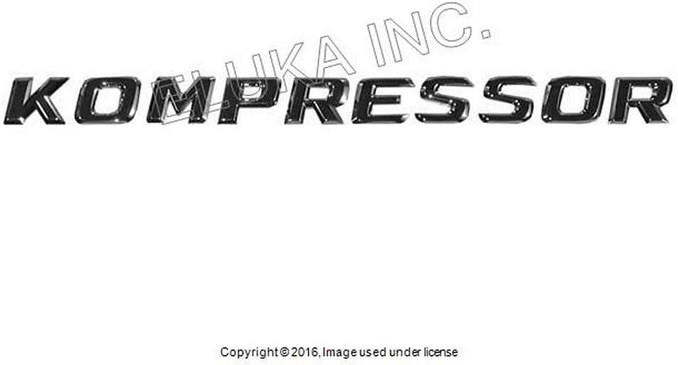 Mercedes-Benz Front Emblem Kompressor Fender New SLK230 SLK32AMG SL55