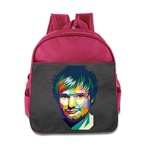 Price comparison product image Ed Sheeran Backpack Children School Bags Pink