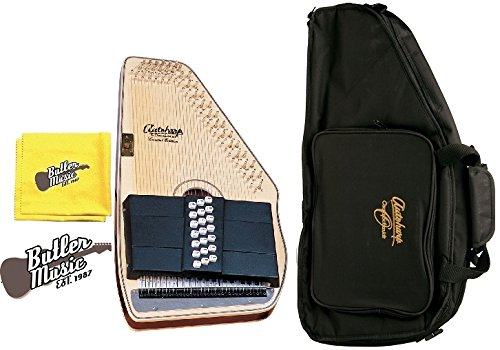 Oscar Schmidt OS11021FN Flame Natural 21 Chord Autoharp w/Gig Bag and More by Oscar Schmidt