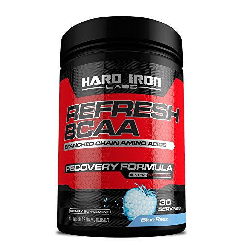 BCAA Powder, Branched Chain Amino Acids, Instantized BCAAs, Essential Amino Acids, 5g BCAA, Pure 2:1:1 Formula, Pre/Intra/Post Workout Recovery, Boost Muscle Growth, Energy & Endurance, Blue Razz