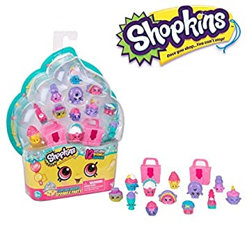 Shopkins Cupcake Queen Sprinkle Party Glittery 12 Pack