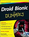 Droid Bionic for Dummies, Dan Gookin, 1118085930