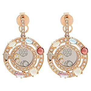 EW Jewellery House Women's Gold Earring, 32 mm
