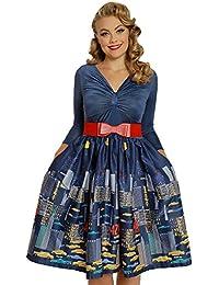 Sinead New York City Print Swing Dress