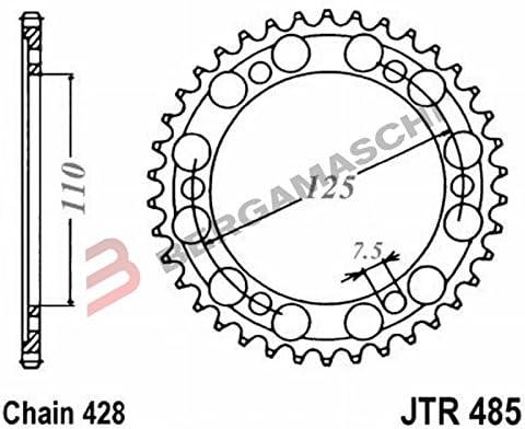 JT-Sprockets JTR485-48 Kettenrad