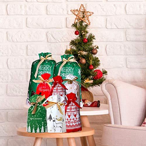 Amazon.com: Happy Storm Bolsas de regalo con cordón de ...