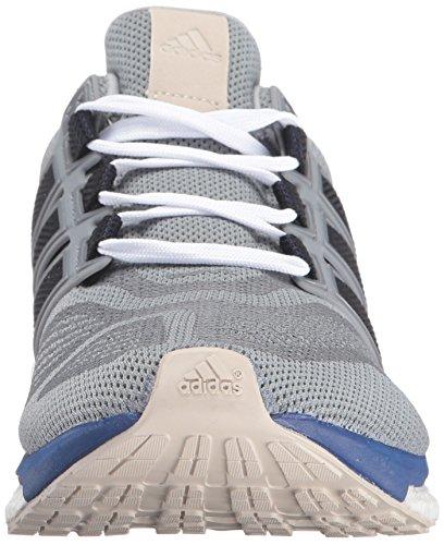 Adidas Performance Mens Spinta Di Energia Di 3 M Di Inchiostro Scarpa Da Corsa Grigio Medio / Unità / Vapore Verde