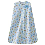 Halo Blue Safari Animal Sleepsack Wearable Baby Blanket, Small