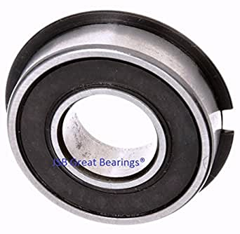 Qty.10 Bearing 6306-2RS-NR W// Snap Ring 6306-NR-2RS ball bearings 6306-2RS NR