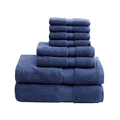 Madison Park MPS73-199 800Gsm 100 Percent Cotton Towel44; Na