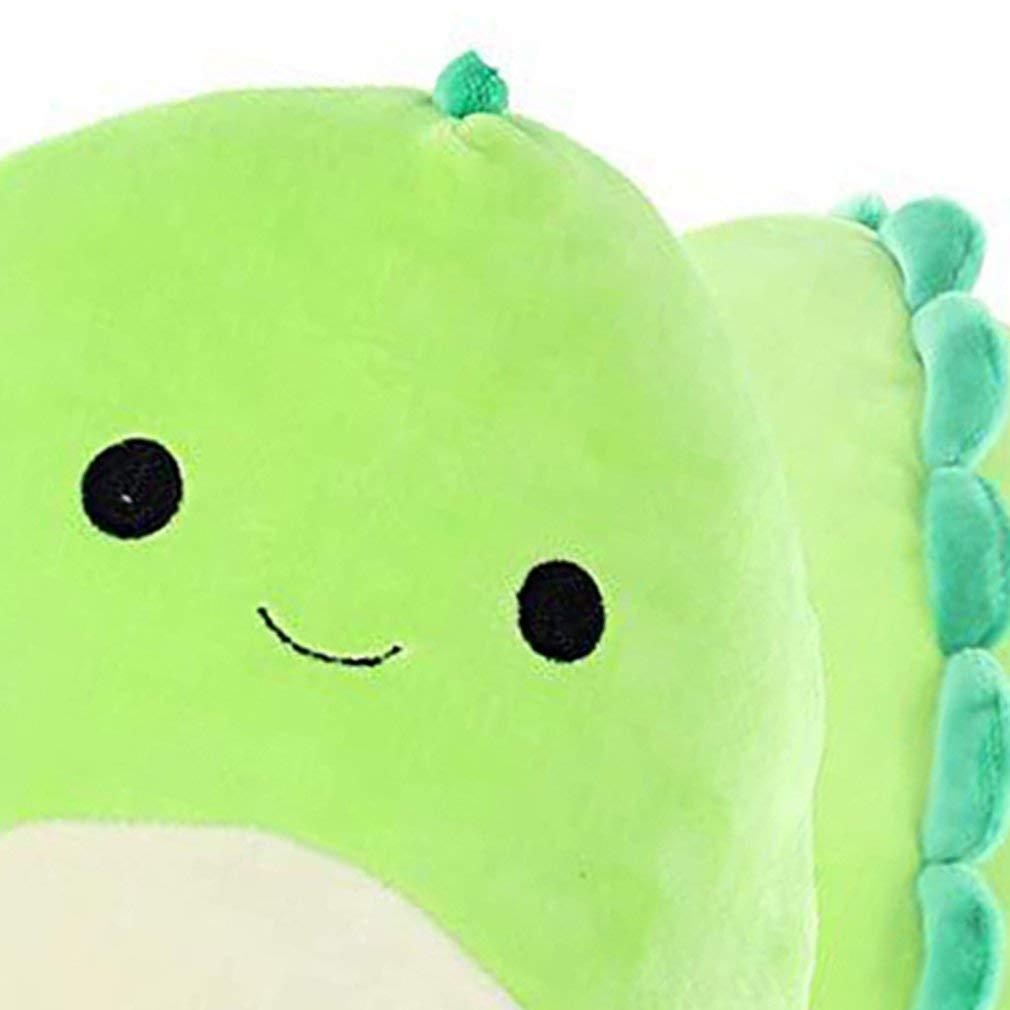 Dinosaurs Plush Toy Baby Dino Stuffed Doll White Stomach Smile Cuddly Animals Plushie for Children Kids Gift