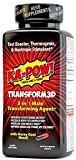 KA-POW! TRANSFORM3DTM is a triple stage, synergistic male transforming agent scientifically formulated to elevate all stages of the male being: Mind, Body, and ATTITUDE. Burn excess fat and reduce body fat composition while simultaneously boosting te...