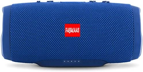 Fabulaas Charge High Bass Portable Bluetooth Speaker for All Mobiles/Tablets/Laptops  Blue  Mobile Speakers