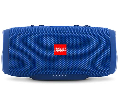 Fabulaas Charge High Bass Portable Bluetooth Speaker for All Mobiles/Tablets/Laptops  Blue  MP3 Player Mobile Speakers
