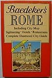 Rome Encounter Travel Guide, Jarrold Baedeker, 0130580740