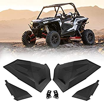 Image of Cabs & Roofs Lower Half Door Inserts Panels with OEM Style Frame Works for 2014-2019 Polaris RZR S 900 XP 1000 Turbo 60' Models (2 DOORS)