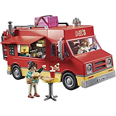 PLAYMOBIL The Movie Del's Food Truck: Toys & Games