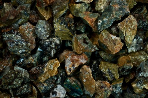Ocean Jasper Crystal (Fantasia Materials: 3 lbs Sea Jasper Rough - (Select 1 to 18 lbs) - Raw Natural Crystals for Cabbing, Cutting, Lapidary, Tumbling, Polishing, Wire Wrapping, Wicca and Reiki Crystal Healing)